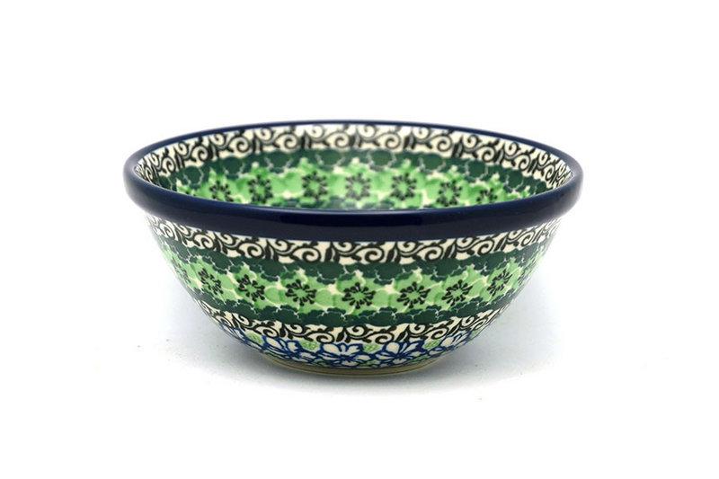 "Polish Pottery Bowl - Small Nesting (5 1/2"") - Kiwi"