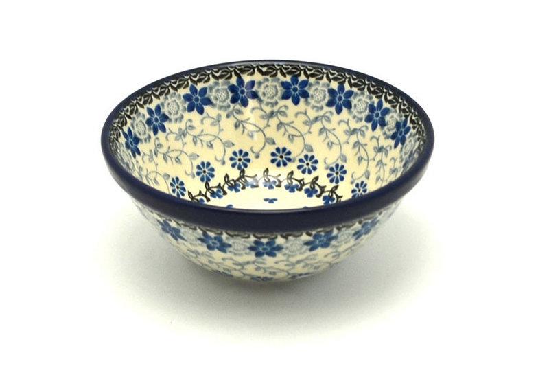 """Ceramika Artystyczna Polish Pottery Bowl - Small Nesting (5 1/2"""") - Silver Lace 059-2158a (Ceramika Artystyczna)"""