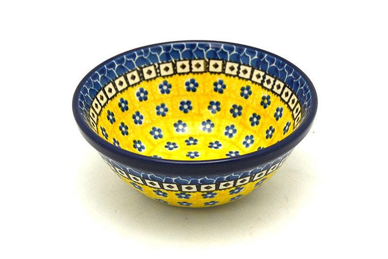 "Ceramika Artystyczna Polish Pottery Bowl - Small Nesting (5 1/2"") - Sunburst 059-859a (Ceramika Artystyczna)"