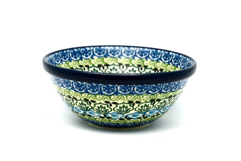 """Ceramika Artystyczna Polish Pottery Bowl - Small Nesting (5 1/2"""") - Tranquility 059-1858a (Ceramika Artystyczna)"""