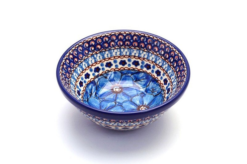 "Ceramika Artystyczna Polish Pottery Bowl - Small Nesting (5 1/2"") - Unikat Signature U408C 059-U408C (Ceramika Artystyczna)"