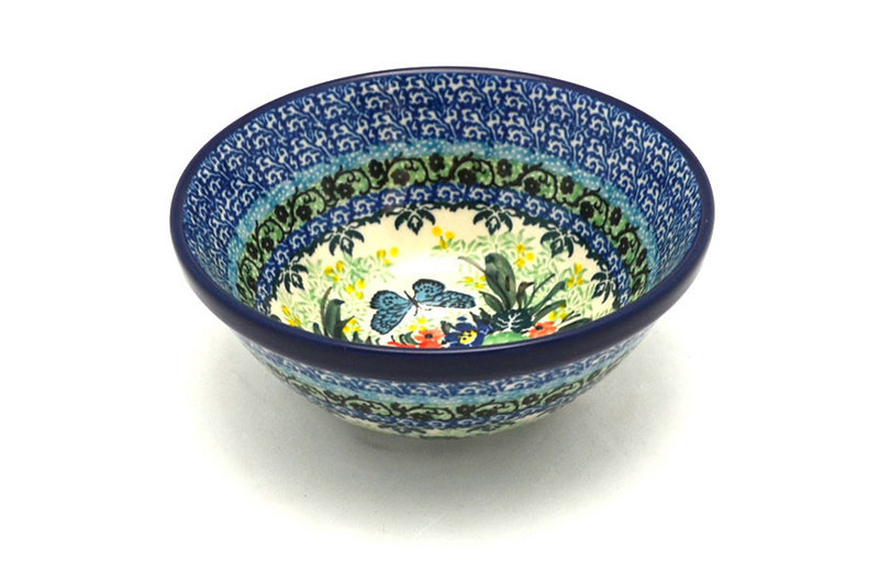 "Ceramika Artystyczna Polish Pottery Bowl - Small Nesting (5 1/2"") - Unikat Signature U4553 059-U4553 (Ceramika Artystyczna)"
