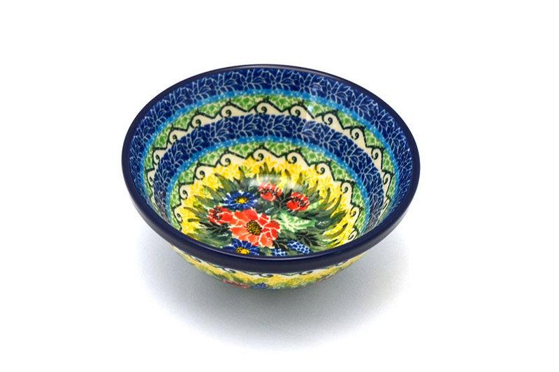 "Ceramika Artystyczna Polish Pottery Bowl - Small Nesting (5 1/2"") - Unikat Signature U4610 059-U4610 (Ceramika Artystyczna)"