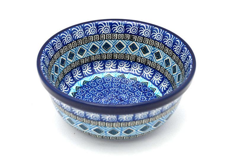 Ceramika Artystyczna Polish Pottery Bowl - Soup and Salad - Aztec Sky 209-1917a (Ceramika Artystyczna)