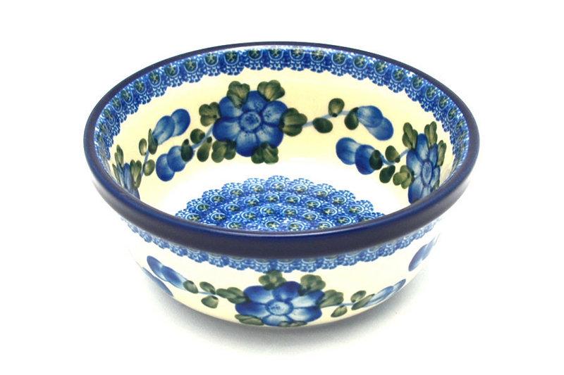 Ceramika Artystyczna Polish Pottery Bowl - Soup and Salad - Blue Poppy 209-163a (Ceramika Artystyczna)