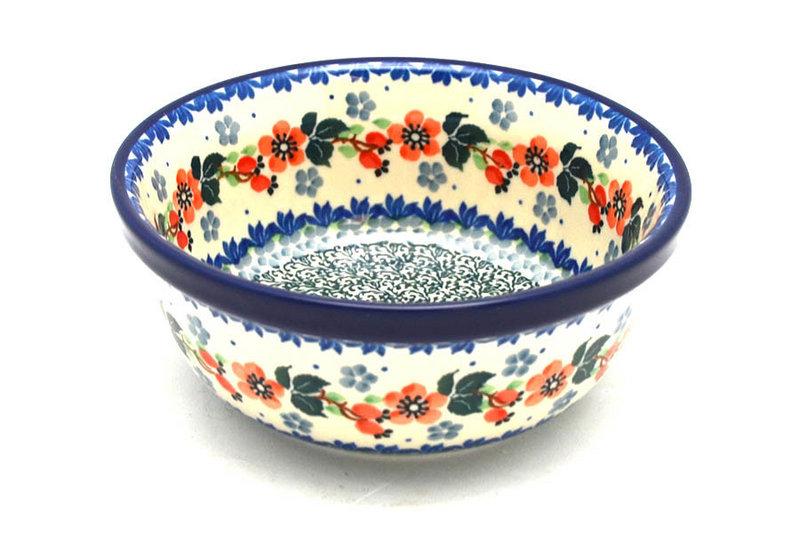 Ceramika Artystyczna Polish Pottery Bowl - Soup and Salad - Cherry Blossom 209-2103a (Ceramika Artystyczna)