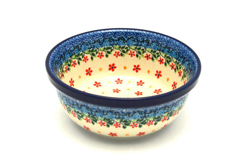 Ceramika Artystyczna Polish Pottery Bowl - Soup and Salad - Cherry Jubilee 209-2284a (Ceramika Artystyczna)
