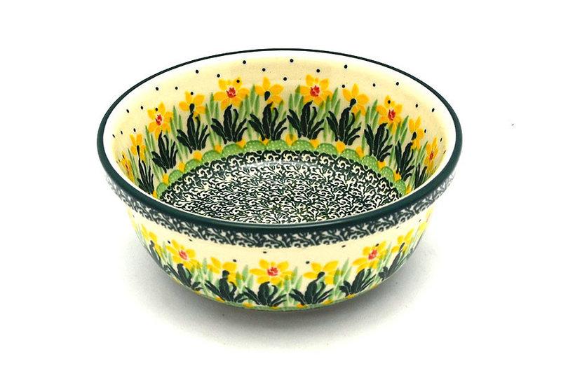 Ceramika Artystyczna Polish Pottery Bowl - Soup and Salad - Daffodil 209-2122q (Ceramika Artystyczna)