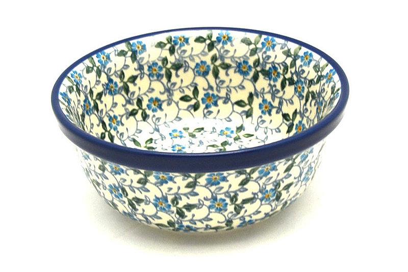 Polish Pottery Bowl - Soup and Salad - Forget-Me-Knot
