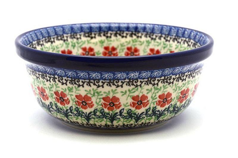 Ceramika Artystyczna Polish Pottery Bowl - Soup and Salad - Maraschino 209-1916a (Ceramika Artystyczna)