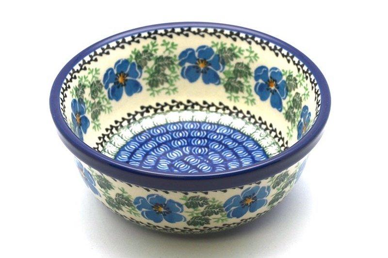 Ceramika Artystyczna Polish Pottery Bowl - Soup and Salad - Morning Glory 209-1915a (Ceramika Artystyczna)