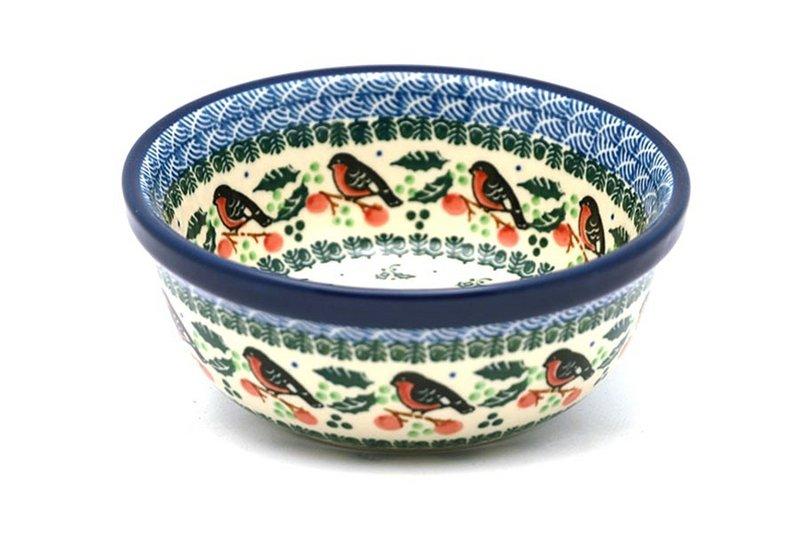 Ceramika Artystyczna Polish Pottery Bowl - Soup and Salad - Red Robin 209-1257a (Ceramika Artystyczna)