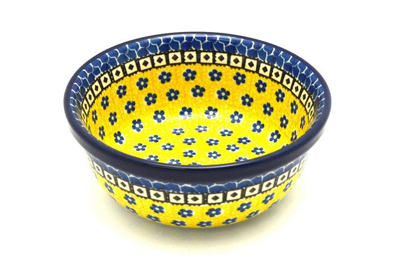 Ceramika Artystyczna Polish Pottery Bowl - Soup and Salad - Sunburst 209-859a (Ceramika Artystyczna)