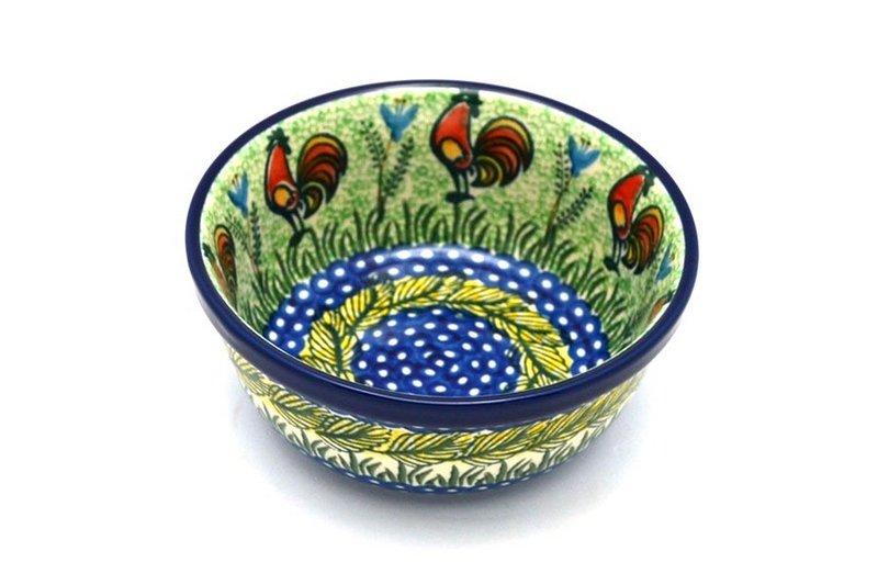 Ceramika Artystyczna Polish Pottery Bowl - Soup and Salad - Unikat Signature - U2663 209-U2663 (Ceramika Artystyczna)