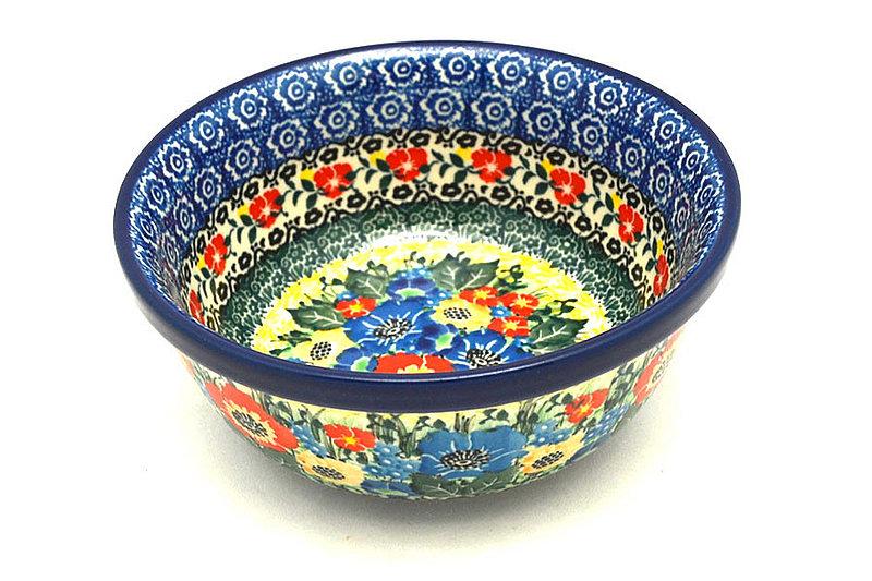 Polish Pottery Bowl - Soup and Salad - Unikat Signature - U4578