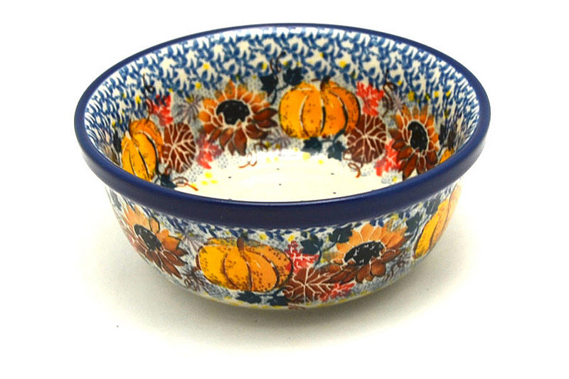 Polish Pottery Bowl - Soup and Salad - Unikat Signature - U4741