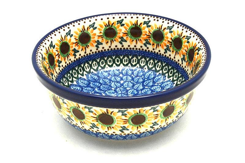 Ceramika Artystyczna Polish Pottery Bowl - Soup and Salad - Unikat Signature - U4860 209-U4860 (Ceramika Artystyczna)