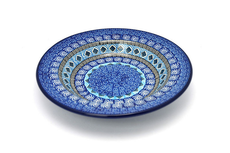 Ceramika Artystyczna Polish Pottery Bowl - Soup/Pasta - Aztec Sky 014-1917a (Ceramika Artystyczna)