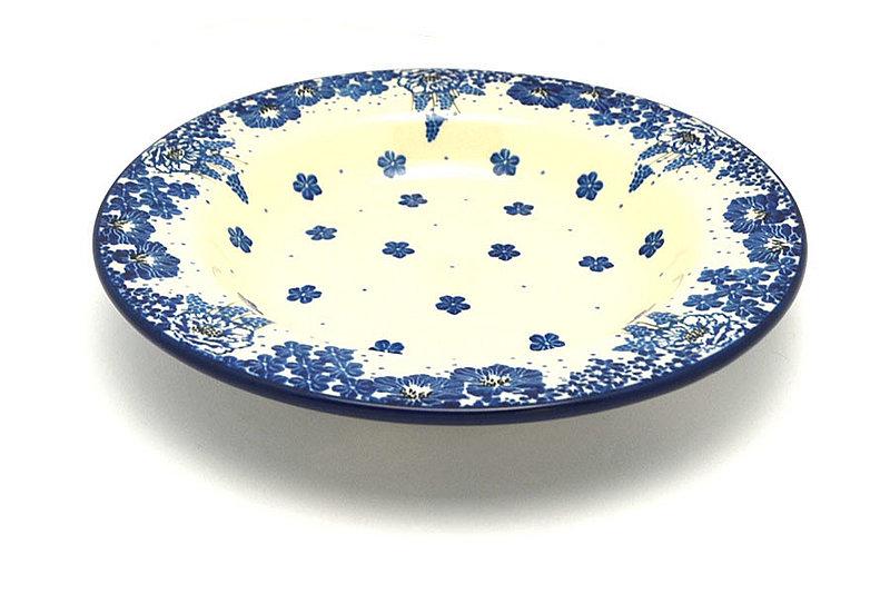 Ceramika Artystyczna Polish Pottery Bowl - Soup/Pasta - Blue Bayou 014-1975a (Ceramika Artystyczna)