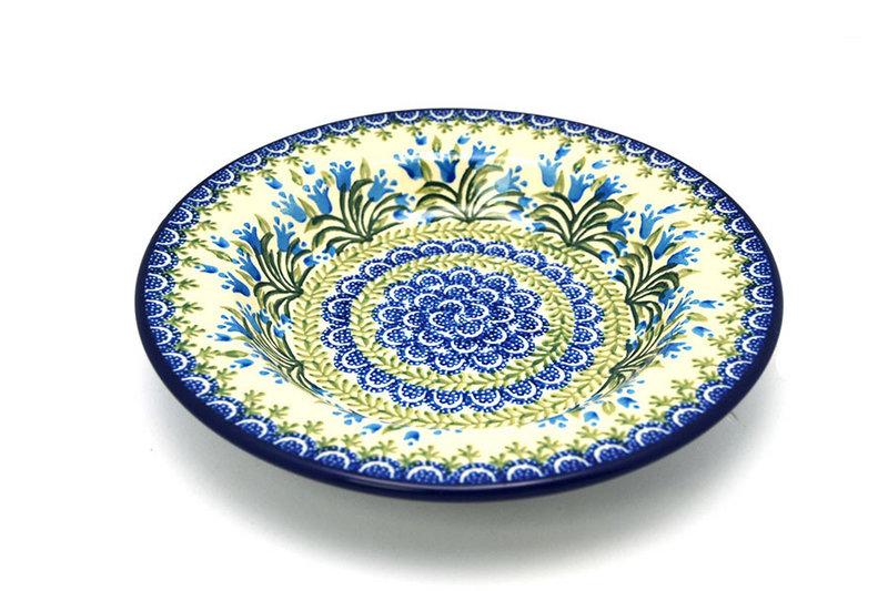 Ceramika Artystyczna Polish Pottery Bowl - Soup/Pasta - Blue Bells 014-1432a (Ceramika Artystyczna)