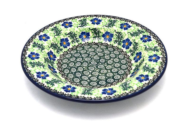 Ceramika Artystyczna Polish Pottery Bowl - Soup/Pasta - Sweet Violet 014-1538a (Ceramika Artystyczna)
