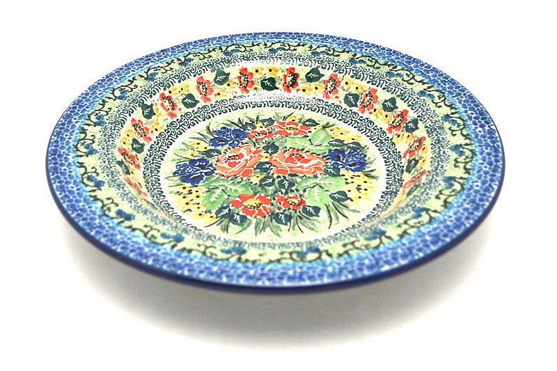 Ceramika Artystyczna Polish Pottery Bowl - Soup/Pasta - Unikat Signature - U4400 014-U4400 (Ceramika Artystyczna)