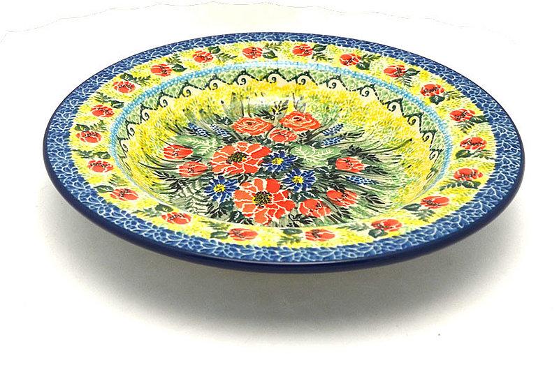 Ceramika Artystyczna Polish Pottery Bowl - Soup/Pasta - Unikat Signature - U4610 014-U4610 (Ceramika Artystyczna)