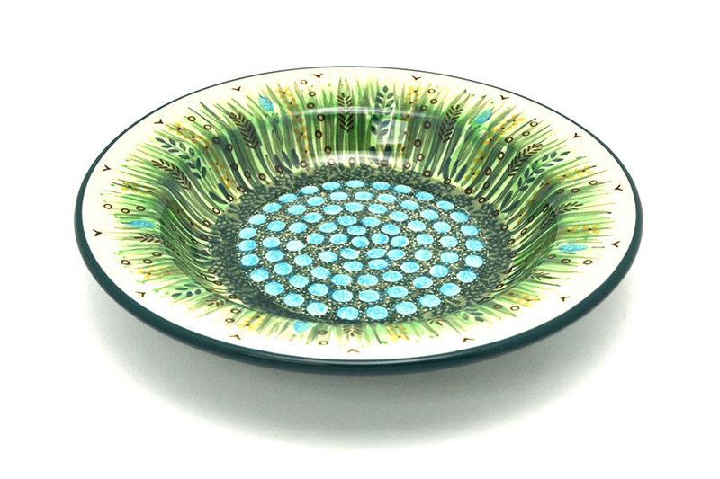Ceramika Artystyczna Polish Pottery Bowl - Soup/Pasta - Unikat Signature - U803 014-U0803 (Ceramika Artystyczna)