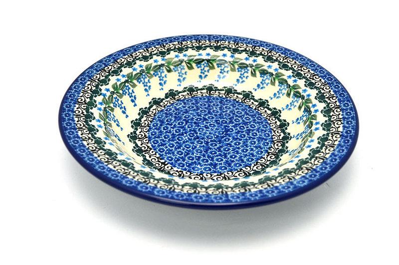 Ceramika Artystyczna Polish Pottery Bowl - Soup/Pasta - Wisteria 014-1473a (Ceramika Artystyczna)