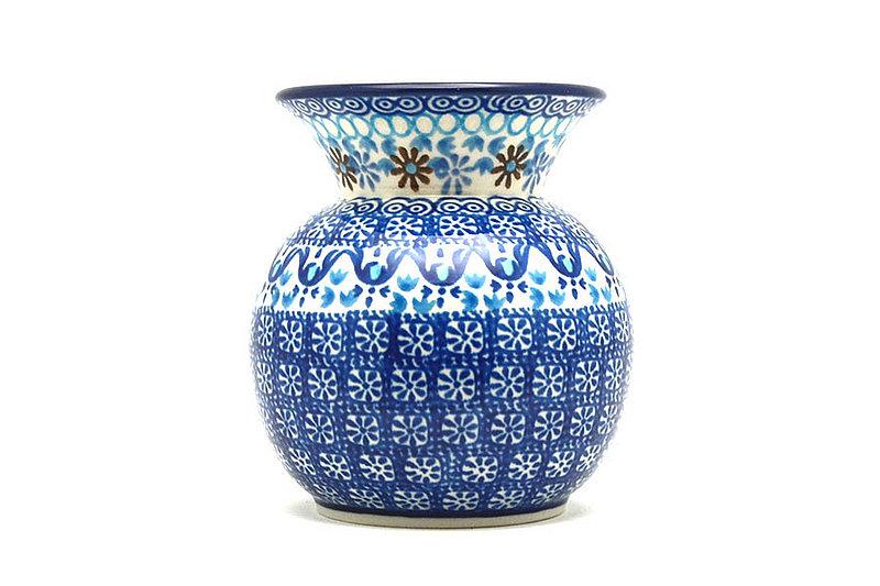 Ceramika Artystyczna Polish Pottery Bubble Vase - Blue Yonder 048-2187a (Ceramika Artystyczna)
