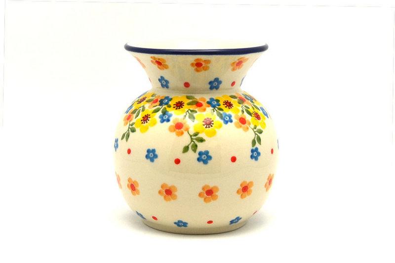 Ceramika Artystyczna Polish Pottery Bubble Vase - Buttercup 048-2225a (Ceramika Artystyczna)