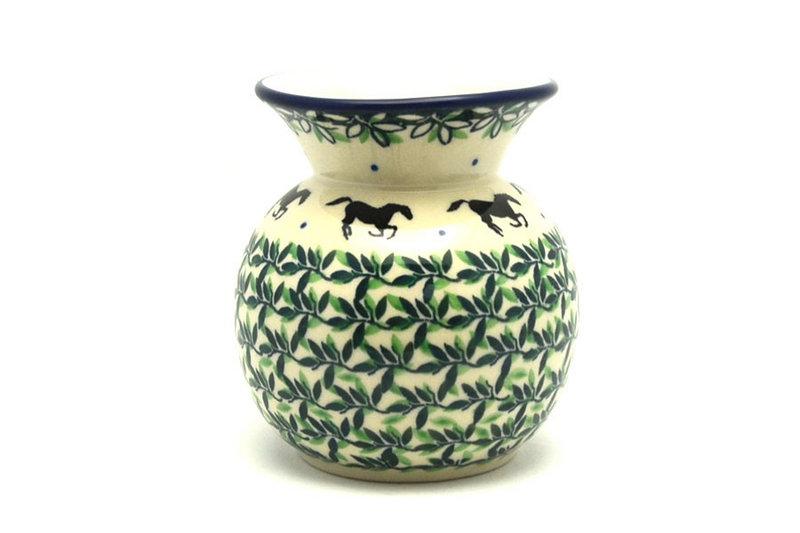 Ceramika Artystyczna Polish Pottery Bubble Vase - Dark Horse 048-2241a (Ceramika Artystyczna)