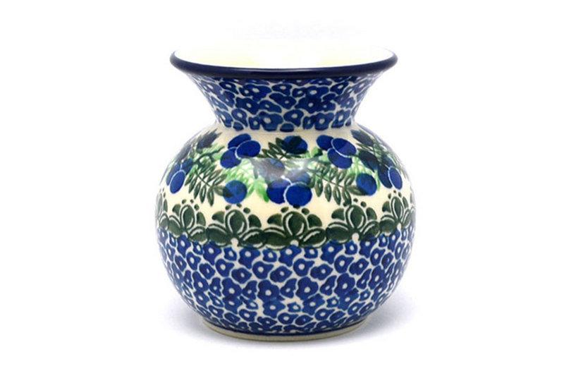 Ceramika Artystyczna Polish Pottery Bubble Vase - Huckleberry 048-1413a (Ceramika Artystyczna)