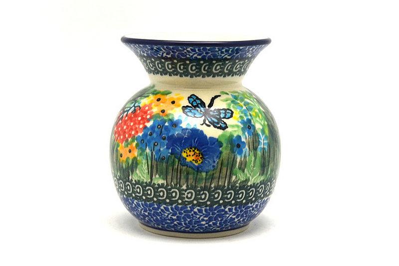 Ceramika Artystyczna Polish Pottery Bubble Vase - Unikat Signature - U4612 048-U4612 (Ceramika Artystyczna)