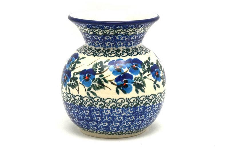 Ceramika Artystyczna Polish Pottery Bubble Vase - Winter Viola 048-2273a (Ceramika Artystyczna)