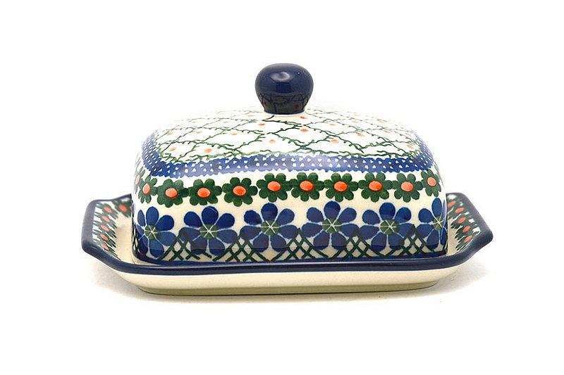 Ceramika Artystyczna Polish Pottery Butter Dish - Primrose 295-854a (Ceramika Artystyczna)