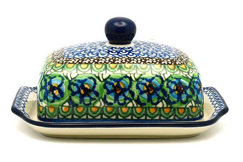 Ceramika Artystyczna Polish Pottery Butter Dish - Unikat Signature - U151 295-U0151 (Ceramika Artystyczna)
