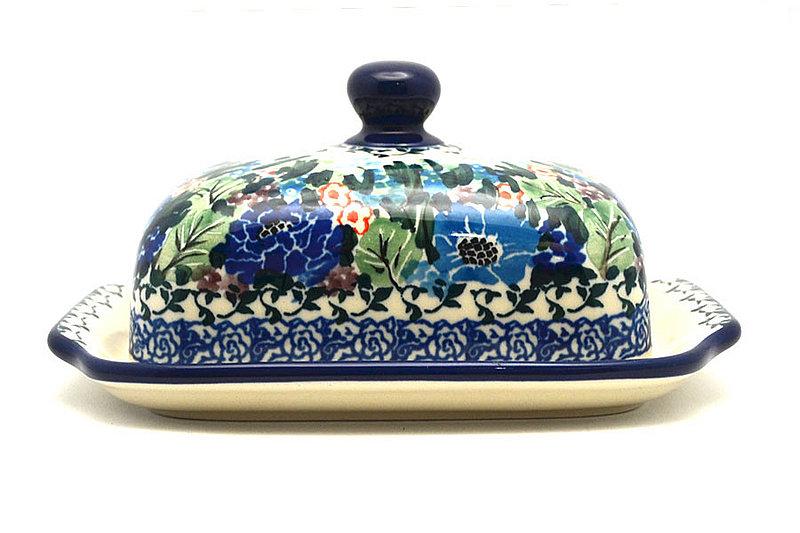 Ceramika Artystyczna Polish Pottery Butter Dish - Unikat Signature - U4572 295-U4572 (Ceramika Artystyczna)