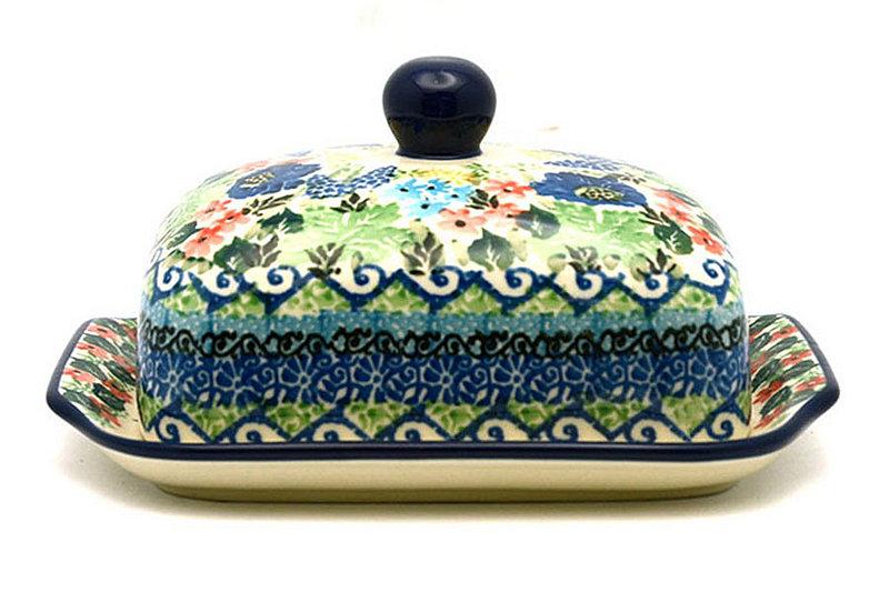 Ceramika Artystyczna Polish Pottery Butter Dish - Unikat Signature - U4695 295-U4695 (Ceramika Artystyczna)