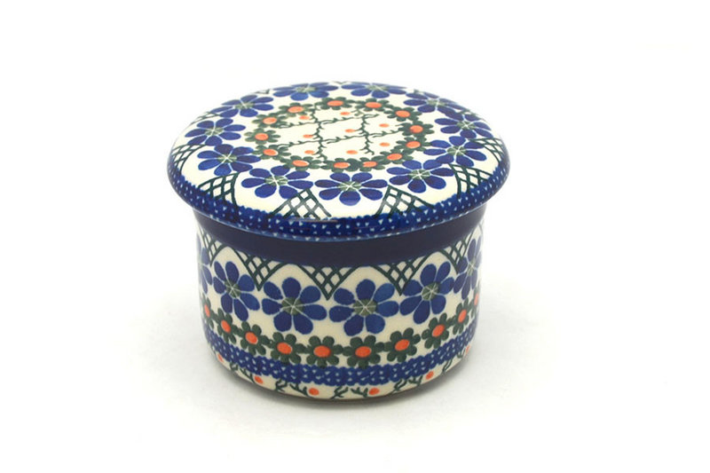 Ceramika Artystyczna Polish Pottery Butter Keeper - Primrose 270-854a (Ceramika Artystyczna)