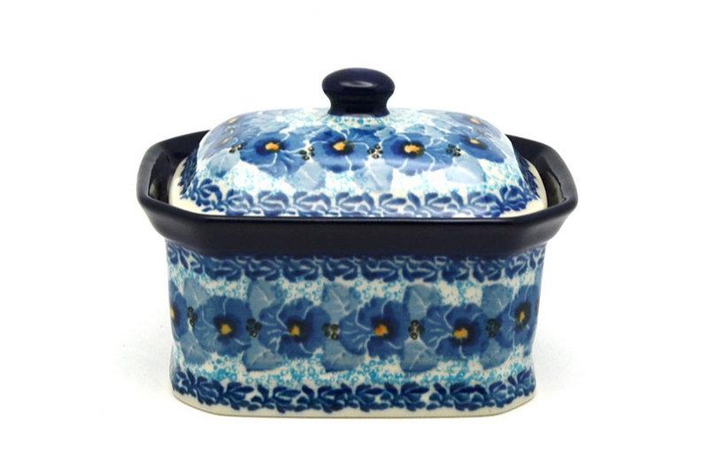 Ceramika Artystyczna Polish Pottery Cake Box - Small - Unikat Signature - U3639 385-U3639 (Ceramika Artystyczna)
