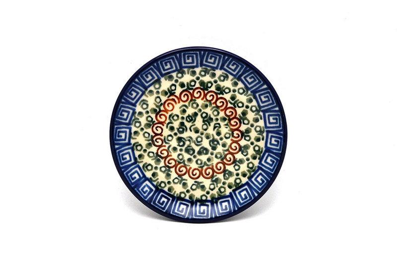 Ceramika Artystyczna Polish Pottery Coaster - Autumn 262-050a (Ceramika Artystyczna)