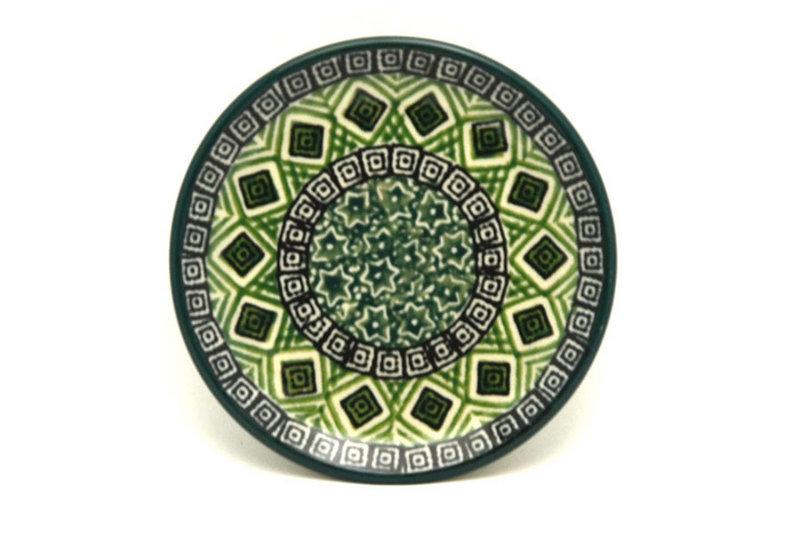 Ceramika Artystyczna Polish Pottery Coaster - Aztec Forest 262-1919q (Ceramika Artystyczna)