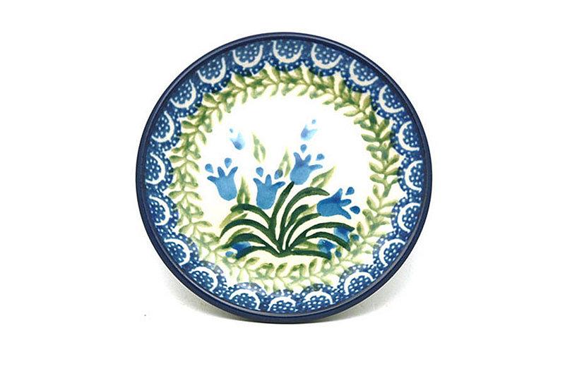 Ceramika Artystyczna Polish Pottery Coaster - Blue Bells 262-1432a (Ceramika Artystyczna)