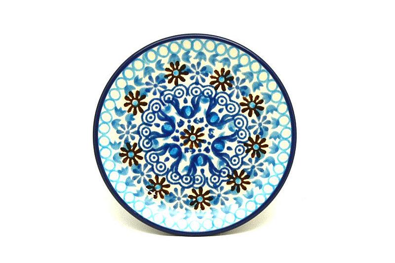 Ceramika Artystyczna Polish Pottery Coaster - Blue Yonder 262-2187a (Ceramika Artystyczna)