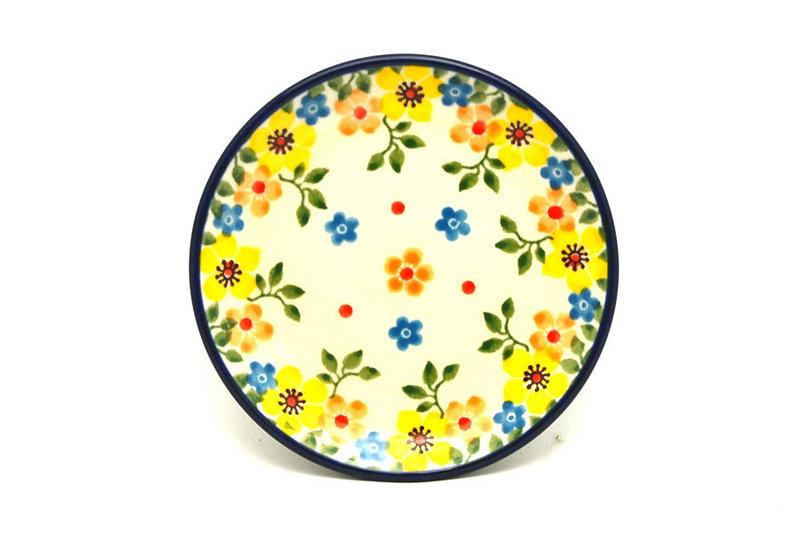 Ceramika Artystyczna Polish Pottery Coaster - Buttercup 262-2225a (Ceramika Artystyczna)