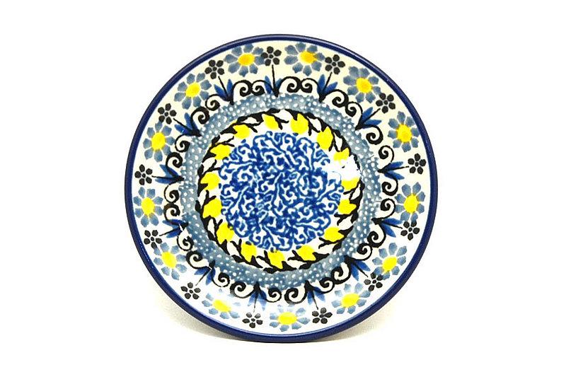Ceramika Artystyczna Polish Pottery Coaster - Daisy Maize 262-2178a (Ceramika Artystyczna)