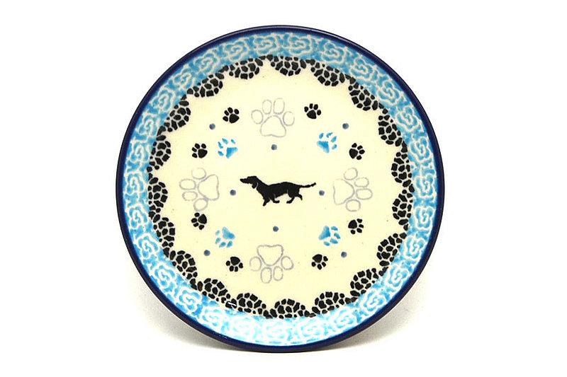 Ceramika Artystyczna Polish Pottery Coaster - Diggity Dog 262-2152a (Ceramika Artystyczna)