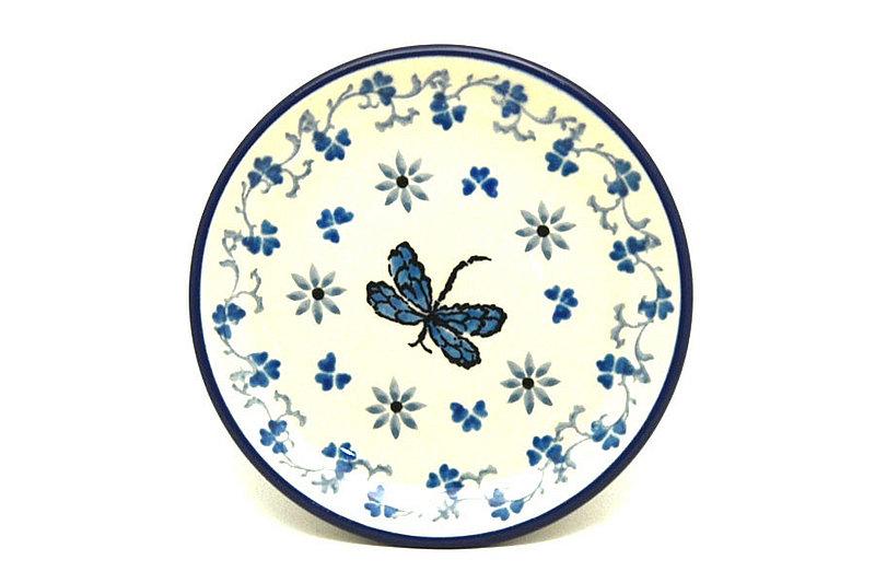 Ceramika Artystyczna Polish Pottery Coaster - Dragonfly 262-2009a (Ceramika Artystyczna)