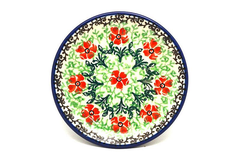Ceramika Artystyczna Polish Pottery Coaster - Maraschino 262-1916a (Ceramika Artystyczna)